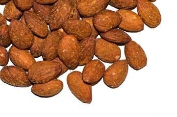 Almonds shelled Smoked
